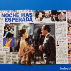 Coleccionismo de Revistas y Periódicos: OSCAR 1992 - OSCAR DE HOLLYWOOD. LA NOCHE MAS ESPERADA - RECORTE SUPERTELE. Lote 101753507