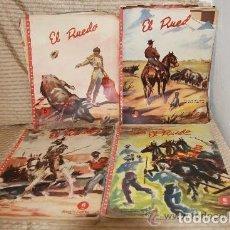 Coleccionismo de Revistas y Periódicos: 2262- EL RUEDO. REVISTA TAURINA. MANUEL FERNANDEZ RUEDA. 1944/1953. 13 NÚMEROS.. Lote 35273917