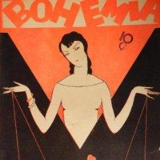 Coleccionismo de Revistas y Periódicos: REVISTA BOHEMIA AÑO XX Nº 44 LA HABANA JUNIO 1928. EL GLADIADOR HERIDO. . Lote 101915031