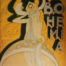 Coleccionismo de Revistas y Periódicos: REVISTA BOHEMIA AÑO 20 Nº 6 LA HABANA JUNIO 1928. UNA HORA DE LITERATURA . . Lote 101917327
