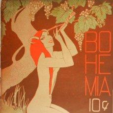 Coleccionismo de Revistas y Periódicos: REVISTA BOHEMIA AÑO XX Nº 47 LA HABANA JUNIO 1928. UL NEGUS DE ABISINIA, INSPECCIONA SUS TROPAS. . . Lote 101939779