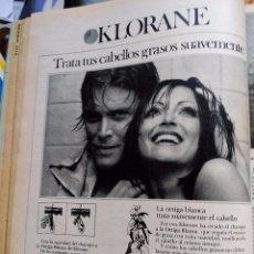 Coleccionismo de Revistas y Periódicos: ANUNCIO CHAMPU KLORANE. Lote 101962143