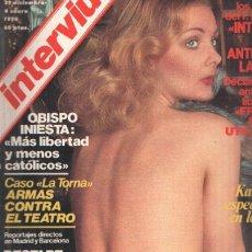 Coleccionismo de Revistas y Periódicos: REVISTA: INTERVIU, NUMERO 0085: KATARINA BERG, ESPECIALISTA EN LENGUAS (ZETA 1978). Lote 102013167