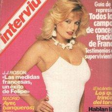 Coleccionismo de Revistas y Periódicos: REVISTA: INTERVIU NUMERO 0401: STEFANIA SANDRELLI MORBO A TOPE (ZETA 1984). Lote 102013824