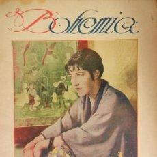 Coleccionismo de Revistas y Periódicos: REVISTA BOHEMIA HABANA CUBA. ABRIL DE 1926.AILEEN PRINGLE. . Lote 102020935