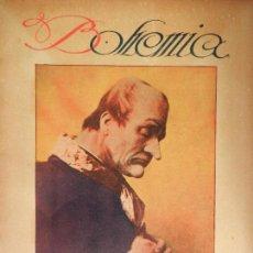 Coleccionismo de Revistas y Periódicos: REVISTA BOHEMIA HABANA CUBA. JUNIO DE 1926. FEODOR CHALIAPIN. . Lote 102021327