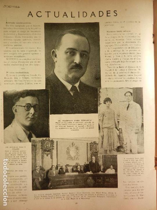 Coleccionismo de Revistas y Periódicos: REVISTA BOHEMIA HABANA CUBA. JUNIO DE 1926. FEODOR CHALIAPIN. - Foto 2 - 102021327