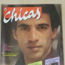 Colecionismo de Revistas e Jornais: REVISTA CHICAS AÑO I N° 2, 1986 IMANOL ARIAS. Lote 102101680