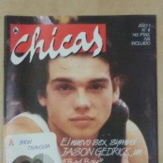 Colecionismo de Revistas e Jornais: REVISTA CHICAS AÑO I N° 8, 1986 JASON GEDRICK, RALPH MACCHIO. Lote 102102902