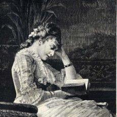 Coleccionismo de Revistas y Periódicos: LECTURA 1889 ILUSTRACION HOJA REVISTA. Lote 102141455