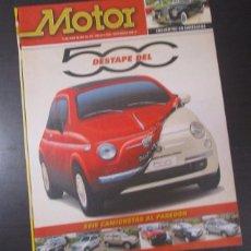 Coleccionismo de Revistas y Periódicos: DESTAPE DEL FIAT 500 REVISTA AÑO 2009 M1. Lote 102223975