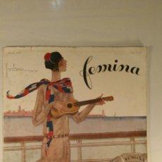 Coleccionismo de Revistas y Periódicos: REVISTA FRANCESA FEMINA. ABRIL 1928. REVISTA DE MODA, SOCIEDAD, ANUNCIOS.. Lote 102295091