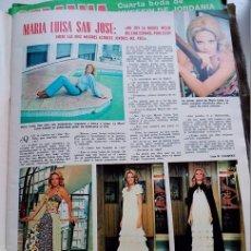 Coleccionismo de Revistas y Periódicos: MARIA LUISA SAN JOSE . Lote 102297651