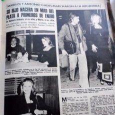 Coleccionismo de Revistas y Periódicos: MARISOL PEPA FLORES . Lote 102299923