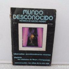 Coleccionismo de Revistas y Periódicos: MUNDO DESCONOCIDO MISTERIOS DE NUESTRO MUNDO Nº 34. Lote 102313739