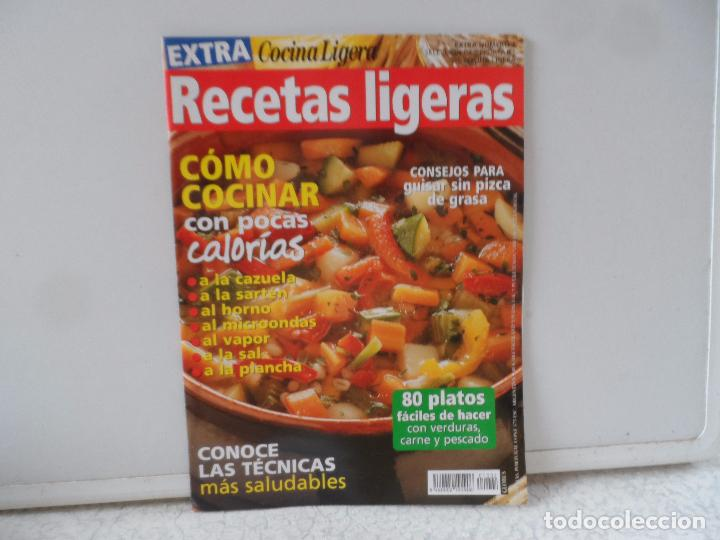 COCINA LIGERA Y VIDA SANA RECETAS LIGERAS EXTRA Nº 2 (Coleccionismo - Revistas y Periódicos Modernos (a partir de 1.940) - Otros)