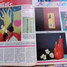 Coleccionismo de Revistas y Periódicos: CLAUDIA CARDINALE . Lote 102396919
