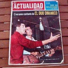 Coleccionismo de Revistas y Periódicos: ACTUALIDAD ESPAÑOLA 1963 / DUO DINAMICO, FRANCOISE HARDY, GRETA GARBO, MARTIN LUTHER KING, LA MAFIA. Lote 102439131
