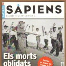 Coleccionismo de Revistas y Periódicos: REVISTA SAPIENS Nº 67 MAIG 2008 - ELS MORTS OBLIDATS. Lote 102458983