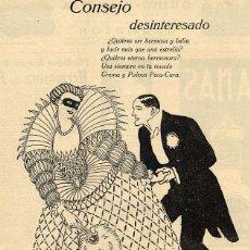 Coleccionismo de Revistas y Periódicos: JUNCEDA 1925 HOJA REVISTA. Lote 102481559