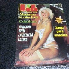 Coleccionismo de Revistas y Periódicos - LIB Nº 440 MADONNA - AGOSTINA BELLI - RAMONCIN (REVISTA EROTICA DE LOS 80 ) - 102487787