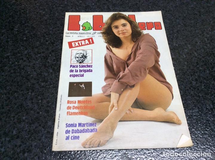 LIB CABALLERO Nº 3 - SONIA MARTINEZ - ROSA MONTES - JANE BIRKIN - (REVISTA EROTICA DE LOS 80 ) (Coleccionismo - Revistas y Periódicos Modernos (a partir de 1.940) - Otros)