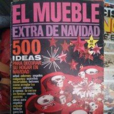 Coleccionismo de Revistas y Periódicos: REVISTA EL MUEBLE EXTRA DE NAVIDAD DICIEMBRE 1971 Nº 120. Lote 102608463