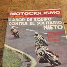 Coleccionismo de Revistas y Periódicos: MOTOCICLISMO AGOSTO 1974. Lote 102733604