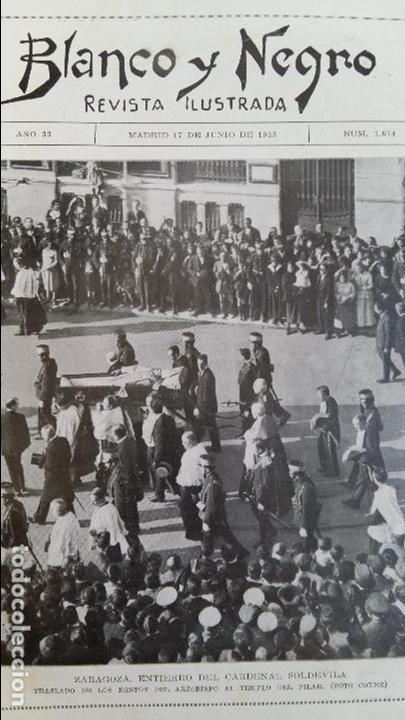 Coleccionismo de Revistas y Periódicos: REVISTA ILUSTRADA BLANCO Y NEGRO. 17 JUNIO 1923 - Foto 3 - 102776663