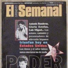 Collectionnisme de Revues et Journaux: EL SUPLEMENTO SEMANAL 474 1996 TXARANGO, ROBERT DE NIRO, RAPA NUI, GLORIA ESTEFAN, LUIS MIGUEL.... Lote 102958459