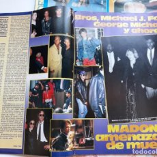 Coleccionismo de Revistas y Periódicos: MADONNA GEORGE MICHAEL JOHN LENNON MICHAEL JACKSON TOM CRUISE . Lote 103084003