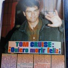 Coleccionismo de Revistas y Periódicos: TOM CRUISE . Lote 103084159