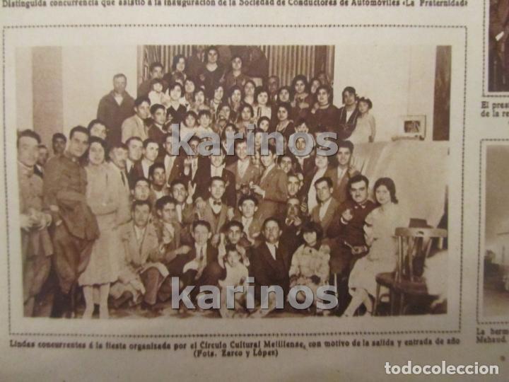 Coleccionismo de Revistas y Periódicos: 1930 Zalamea de la Serena, homenaje a Pedro Crespo. Melilla, Conductores La Fraternidad, Sidi – Abb - Foto 4 - 103107475