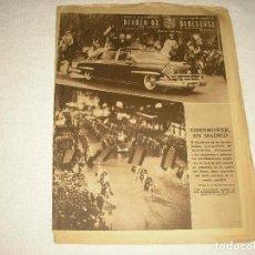 Coleccionismo de Revistas y Periódicos: DIARIO BARCELONA N° 304 . DICIEMBRE 1959 EISENHOWER EN MADRID. Lote 103133295