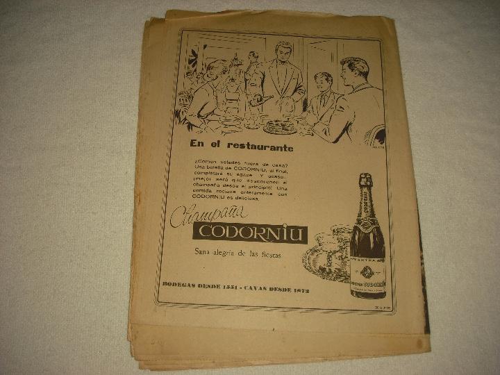 Coleccionismo de Revistas y Periódicos: DIARIO BARCELONA N° 304 . DICIEMBRE 1959 EISENHOWER EN MADRID - Foto 2 - 103133295
