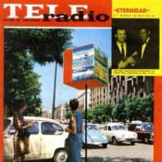 Coleccionismo de Revistas y Periódicos: TELERADIO. REVISTA TELE RADIO N. 345. 03/06/1964. PORTADA XIII FESTIVAL MÚSICA SANTANDER. VER SUMARI. Lote 103146271