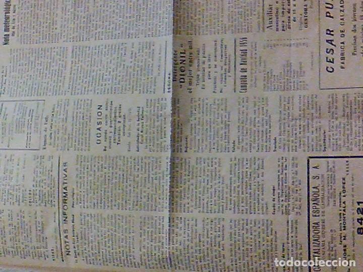 Coleccionismo de Revistas y Periódicos: periodico Juventud semanario nacional sindicalista nº 730 VALLS 19 enero DE 1957 jose antonio - Foto 9 - 103171231