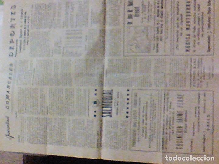 Coleccionismo de Revistas y Periódicos: periodico Juventud semanario nacional sindicalista nº 730 VALLS 19 enero DE 1957 jose antonio - Foto 10 - 103171231