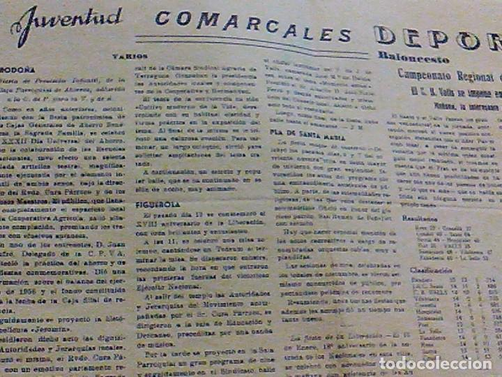 Coleccionismo de Revistas y Periódicos: periodico Juventud semanario nacional sindicalista nº 730 VALLS 19 enero DE 1957 jose antonio - Foto 11 - 103171231