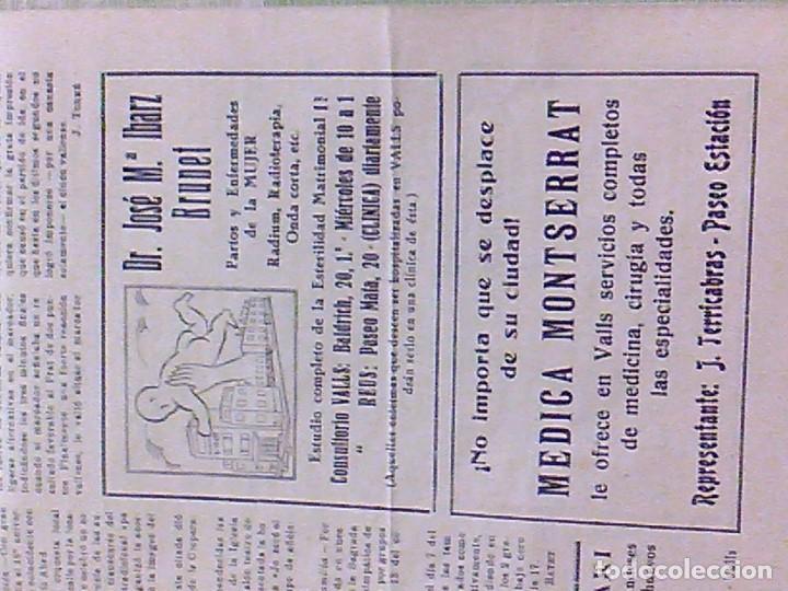 Coleccionismo de Revistas y Periódicos: periodico Juventud semanario nacional sindicalista nº 730 VALLS 19 enero DE 1957 jose antonio - Foto 13 - 103171231