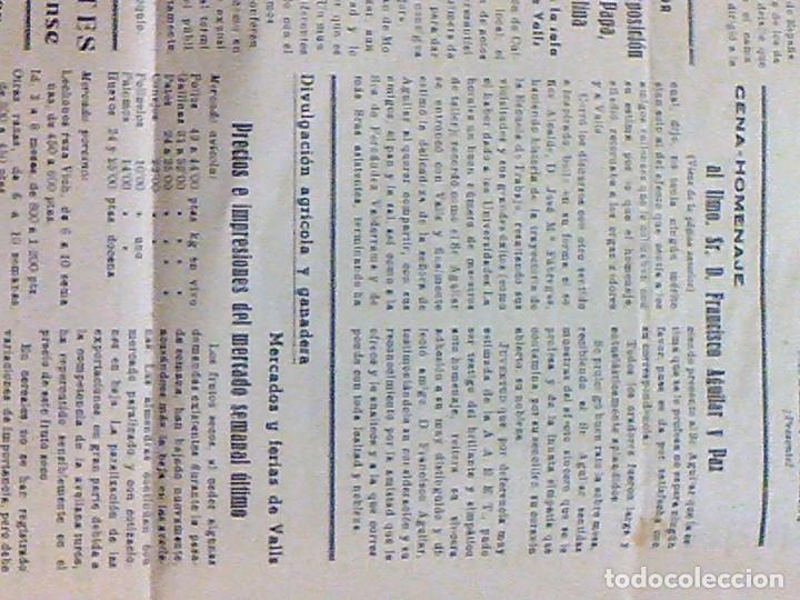 Coleccionismo de Revistas y Periódicos: periodico Juventud semanario nacional sindicalista nº 730 VALLS 19 enero DE 1957 jose antonio - Foto 15 - 103171231