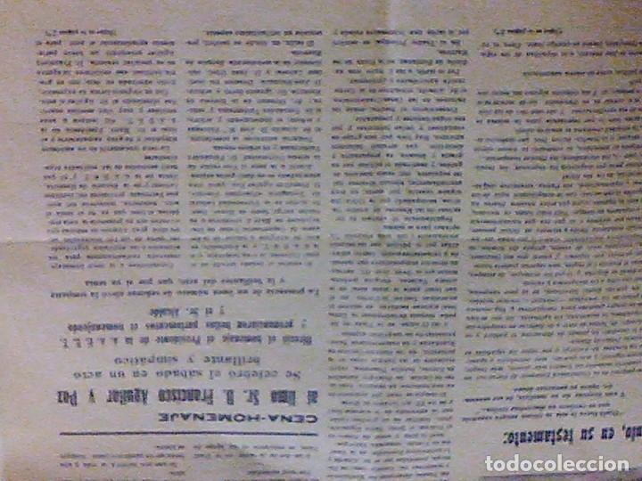 Coleccionismo de Revistas y Periódicos: periodico Juventud semanario nacional sindicalista nº 730 VALLS 19 enero DE 1957 jose antonio - Foto 16 - 103171231