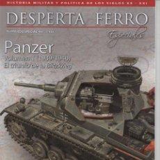 Coleccionismo de Revistas y Periódicos: DESPERTA FERRO ESPECIALES N. 12 - EN PORTADA: PANZER VOLUMEN 1 (1939-1940) (NUEVA). Lote 130893125