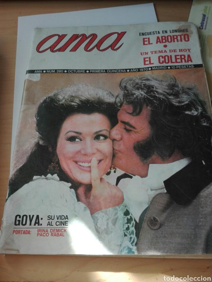 REVISTA AMA NUM 260 OCTUBRE 1970. (Coleccionismo - Revistas y Periódicos Modernos (a partir de 1.940) - Otros)