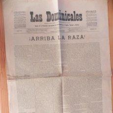 Coleccionismo de Revistas y Periódicos: ANTIGUO PERÍODICO -LAS DOMINICALES. NÚM. 302. 7 DE DICIEMBRE DE 1906.. Lote 103210155