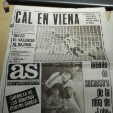 Coleccionismo de Revistas y Periódicos: PERIÓDICO AS NUM 4340. 26.11.1981. Lote 103221370