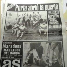 Coleccionismo de Revistas y Periódicos: PERIÓDICO AS NUM 4504. 28.05.1982. Lote 103224858