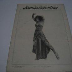 Coleccionismo de Revistas y Periódicos: MUNDO ARGENTINO NUM 508 6 DE OCTUBRE DE 1920. Lote 103346111