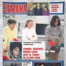 Coleccionismo de Revistas y Periódicos: SEMANA - 1985 - ISABEL PANTOJA, JULIO IGLESIAS, MARIA JOSE CANTUDO, GRACE JONES, MARIA JIMENEZ. Lote 47189228