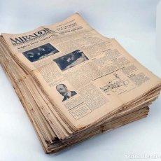 Coleccionismo de Revistas y Periódicos: MIRADOR SETMANARI DE LITERATURA ART I POLÍTICA. LOTE DE 256 NÚMEROS ENTRE 52 Y 387 (VVAA) 1926. Lote 103426719